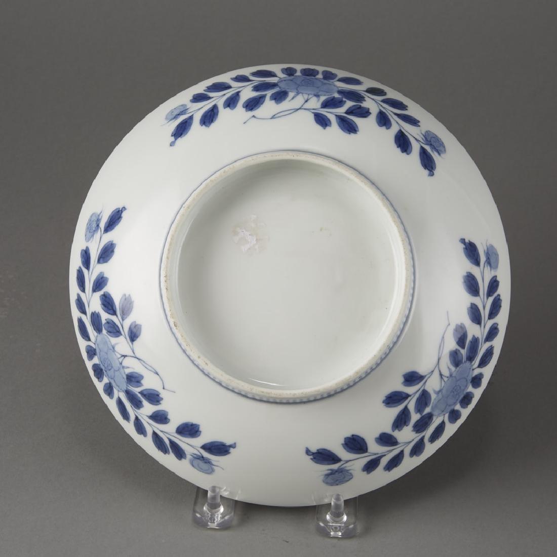 Hirado or Nabeshima Porcelain Dish -Edo period. - 2