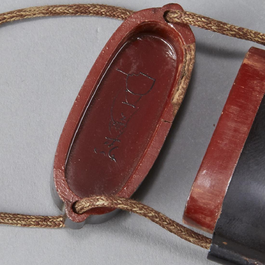 2 Edo Period Japanese Lacquer Inro - BTC Acpt - 4