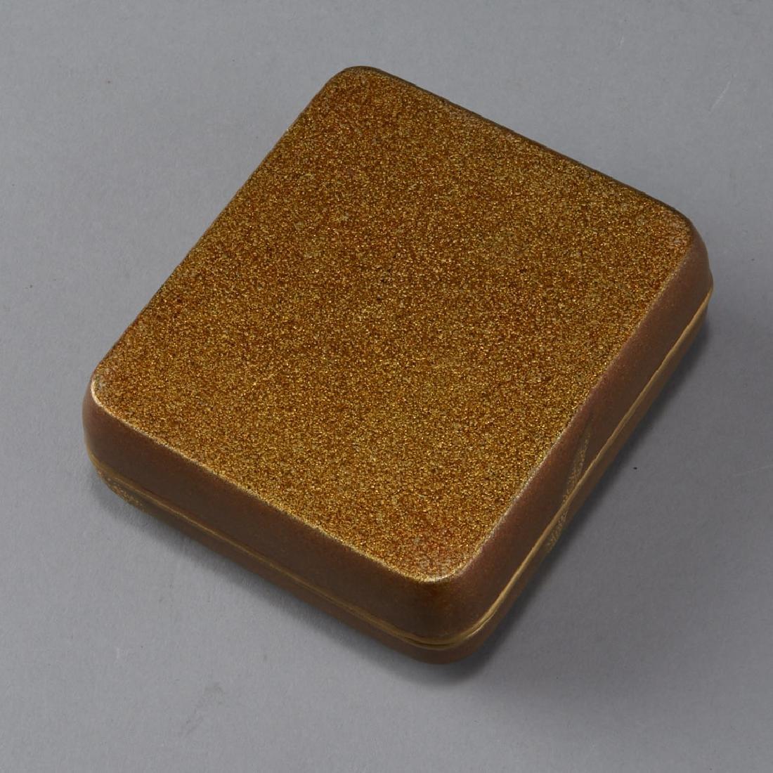 Japanese Meiji or Edo Lacquer box - 3