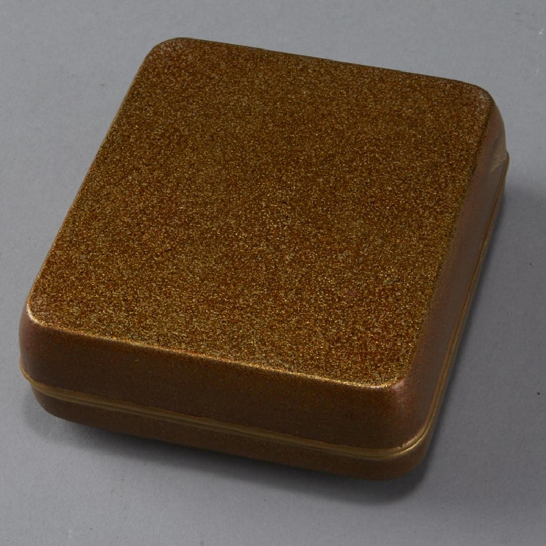Japanese Meiji or Edo Lacquer box - 4