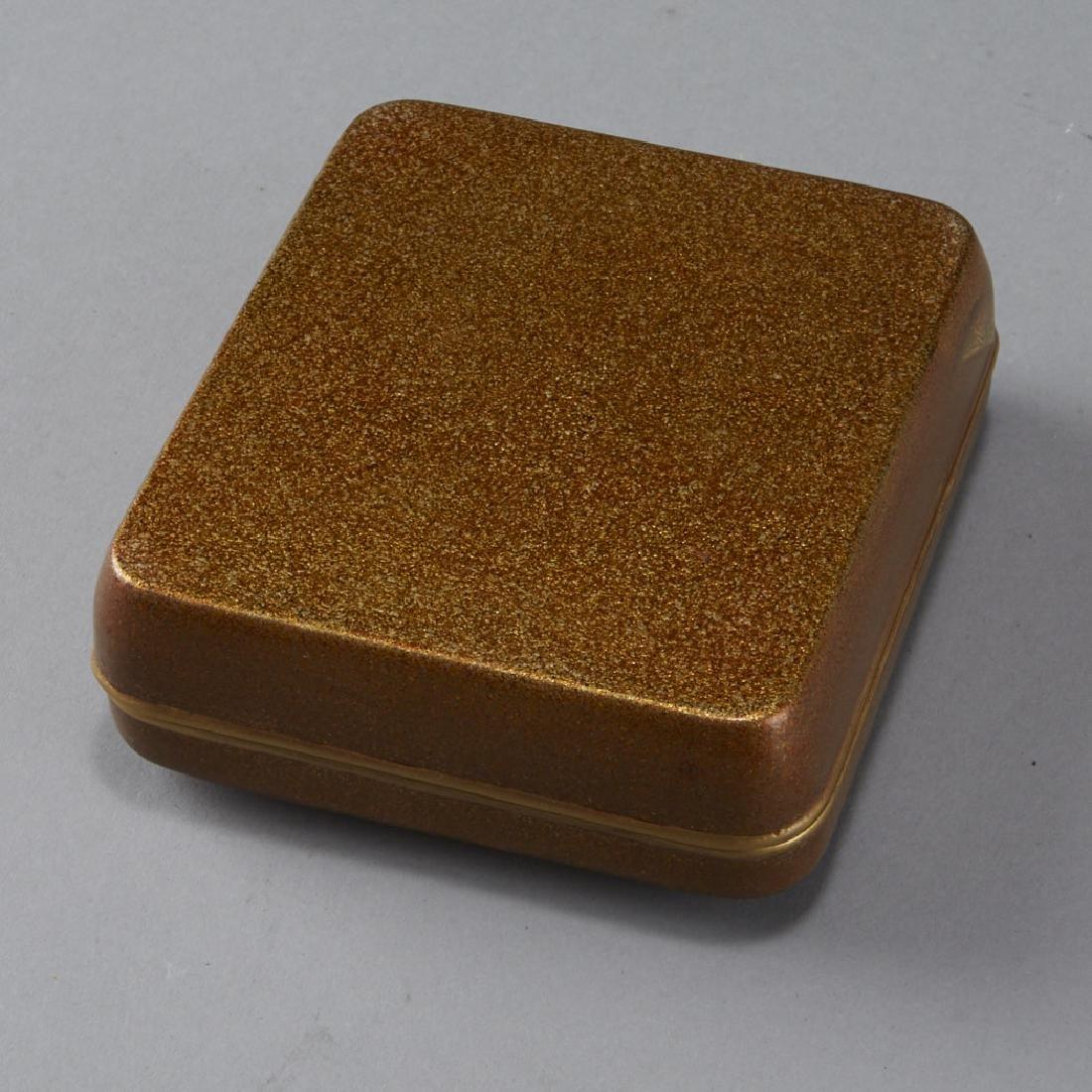 Japanese Meiji or Edo Lacquer box - 5