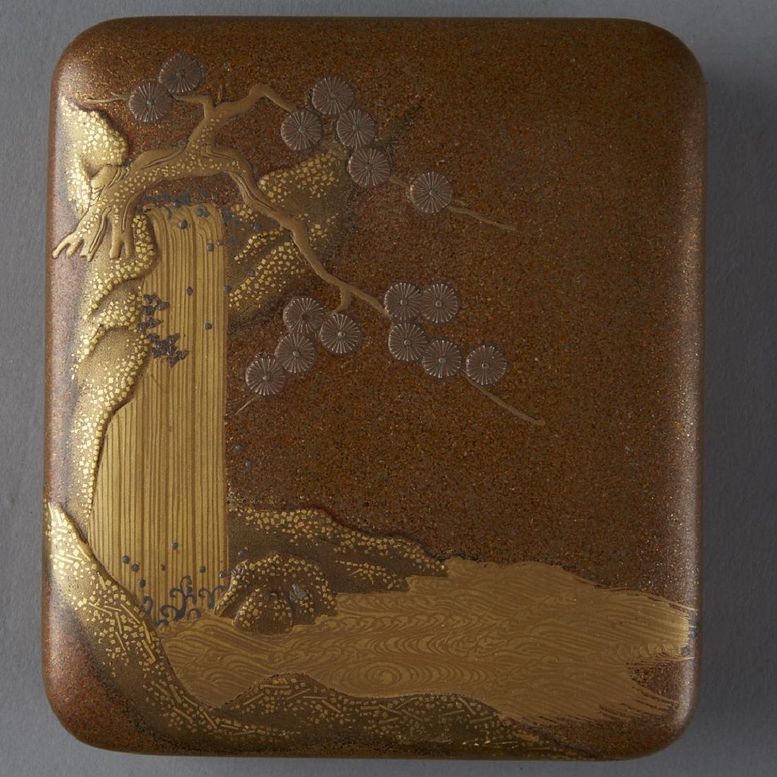 Japanese Meiji or Edo Lacquer box - 6