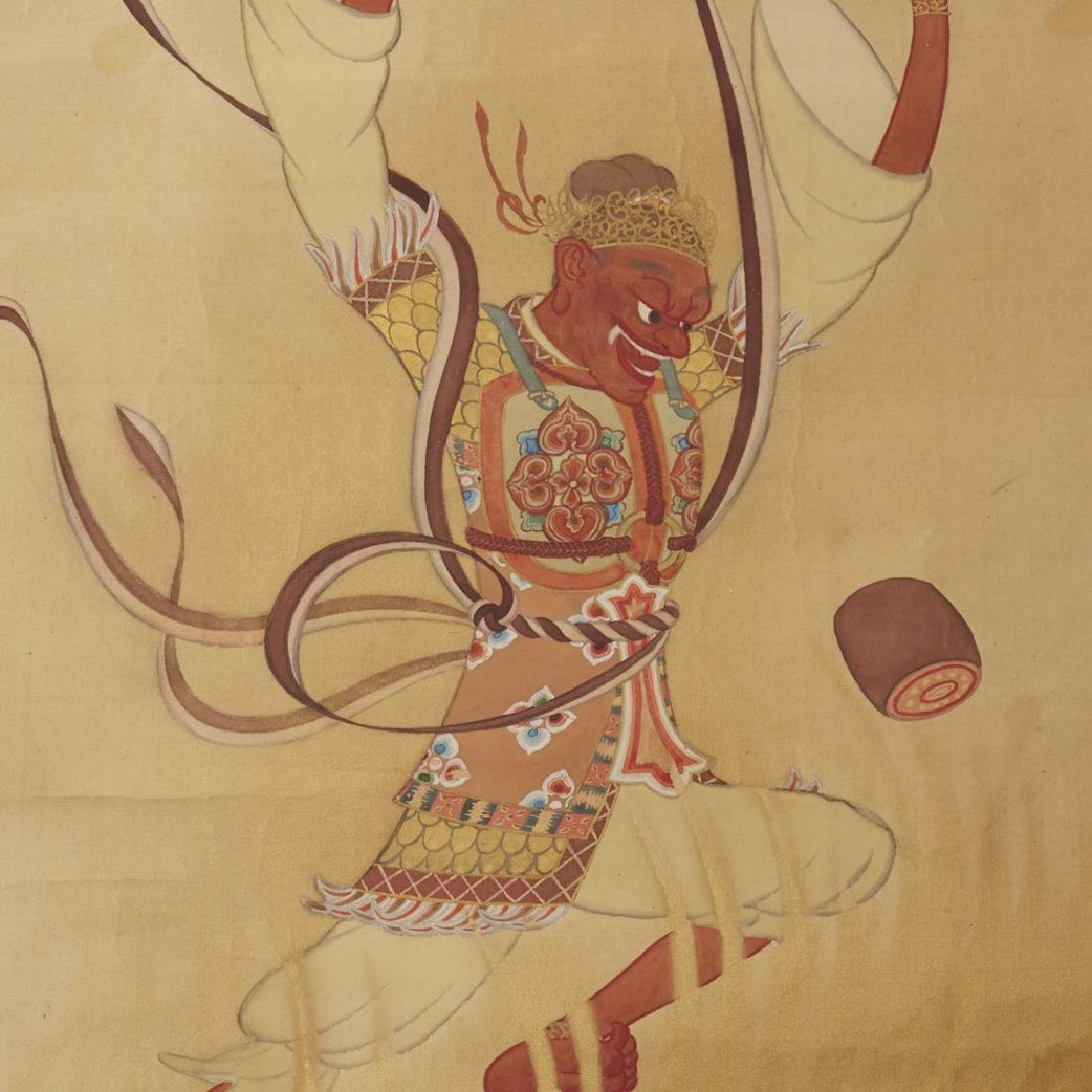 Japanese Scroll Paintings: Gods of Wind & Thunder - 2