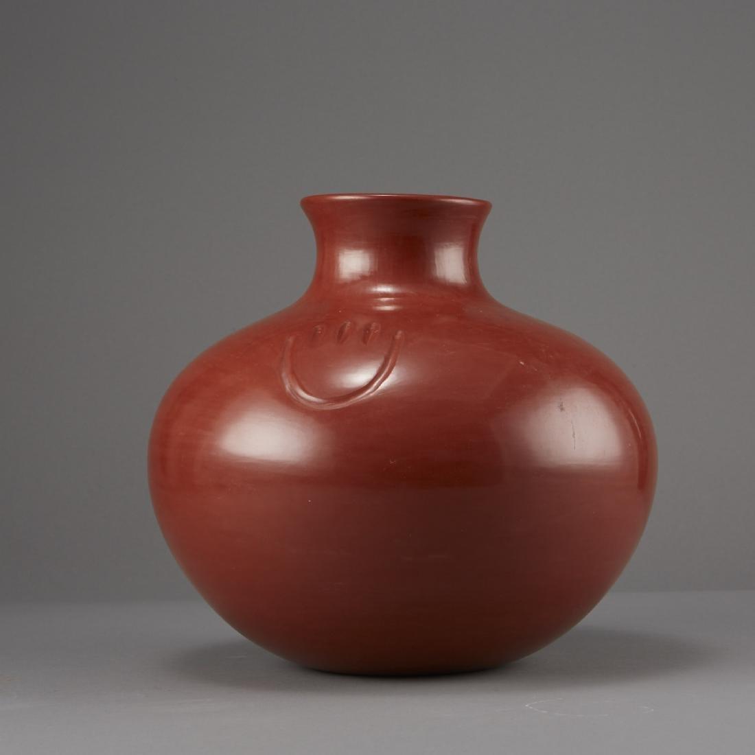 Tina Garcia Santa Clara Redware Jar