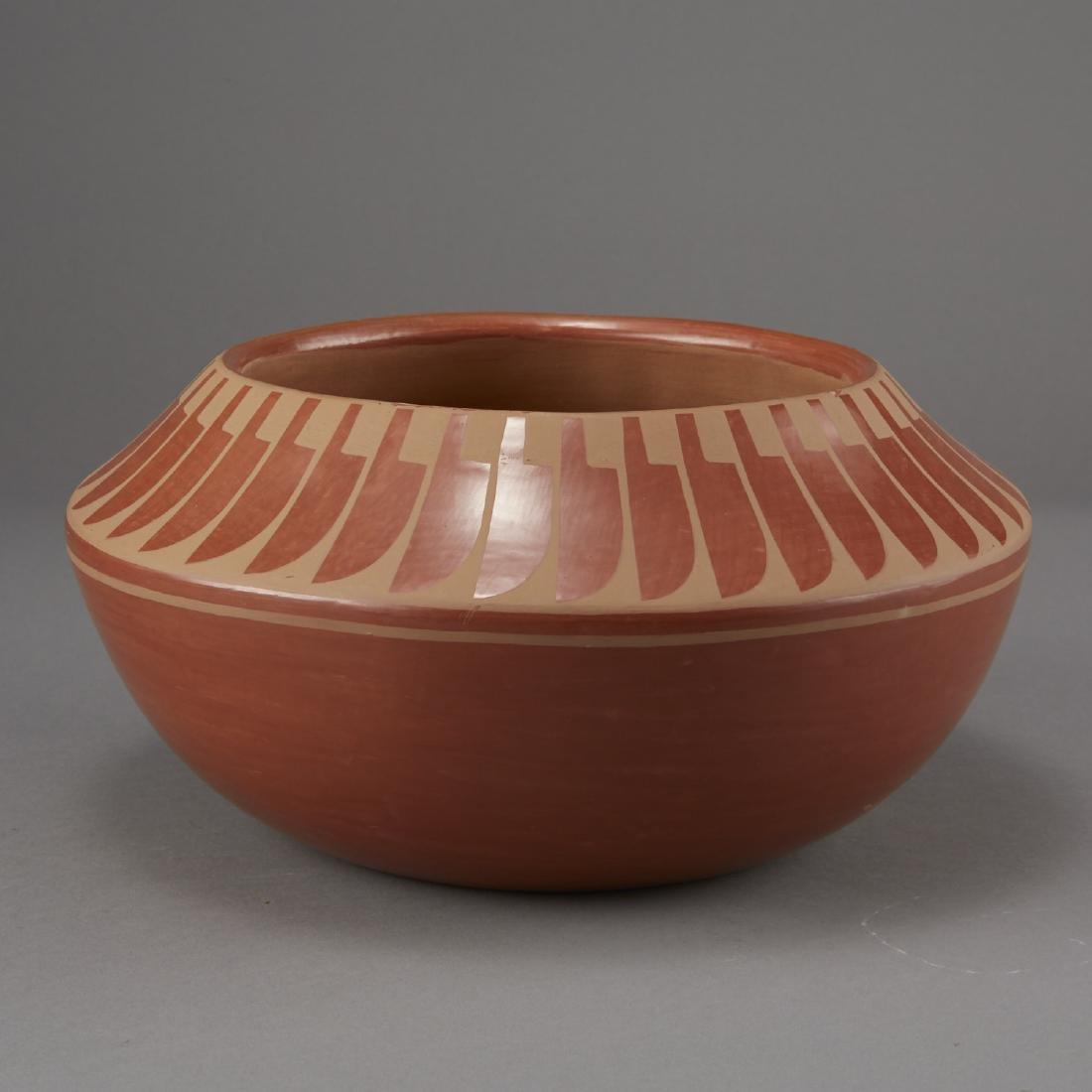 Blue Corn Redware San Ildefonso Pottery