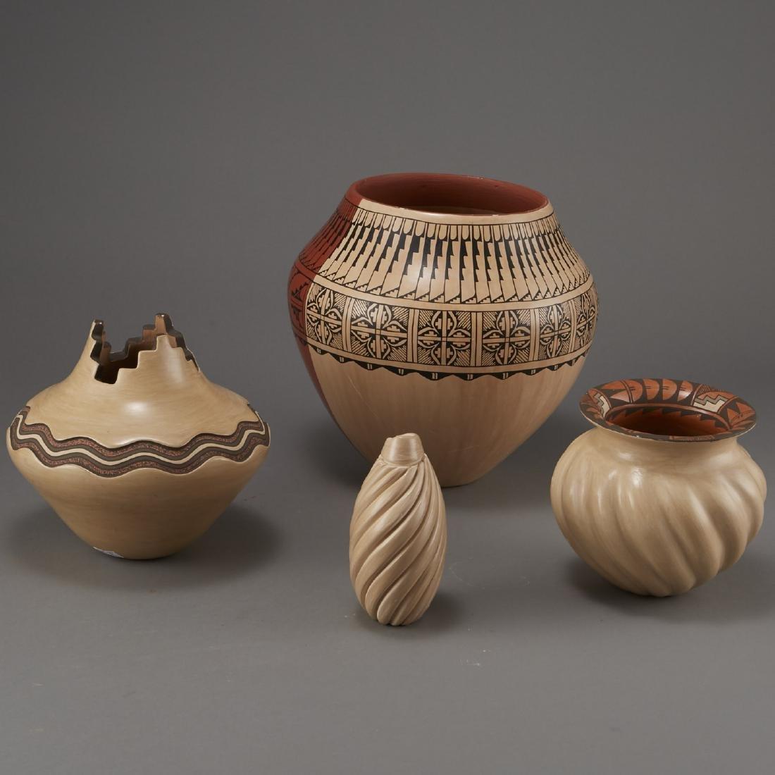 Group of Jemez Pottery Yepa and Fragua - 2