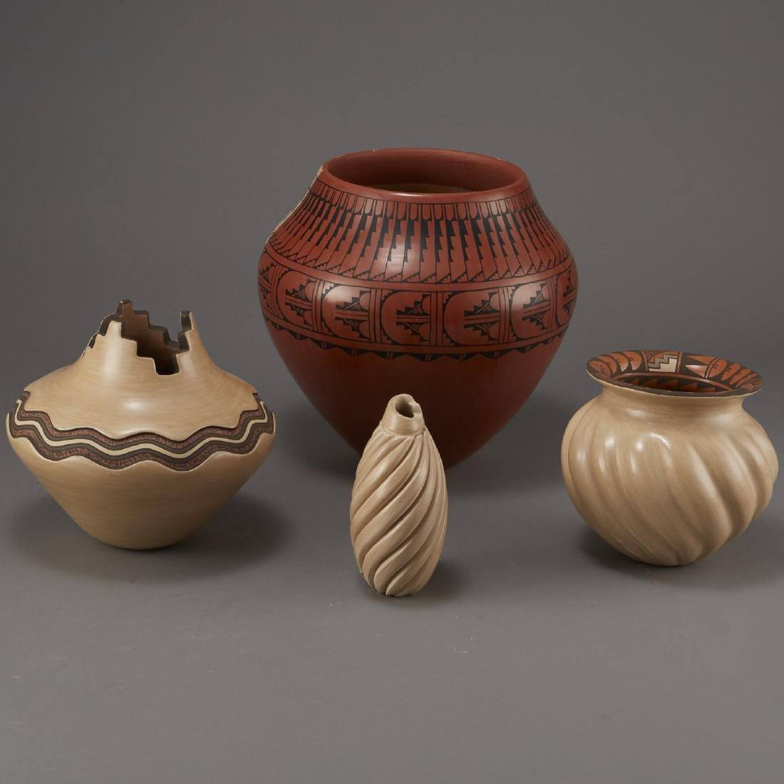 Group of Jemez Pottery Yepa and Fragua - 4