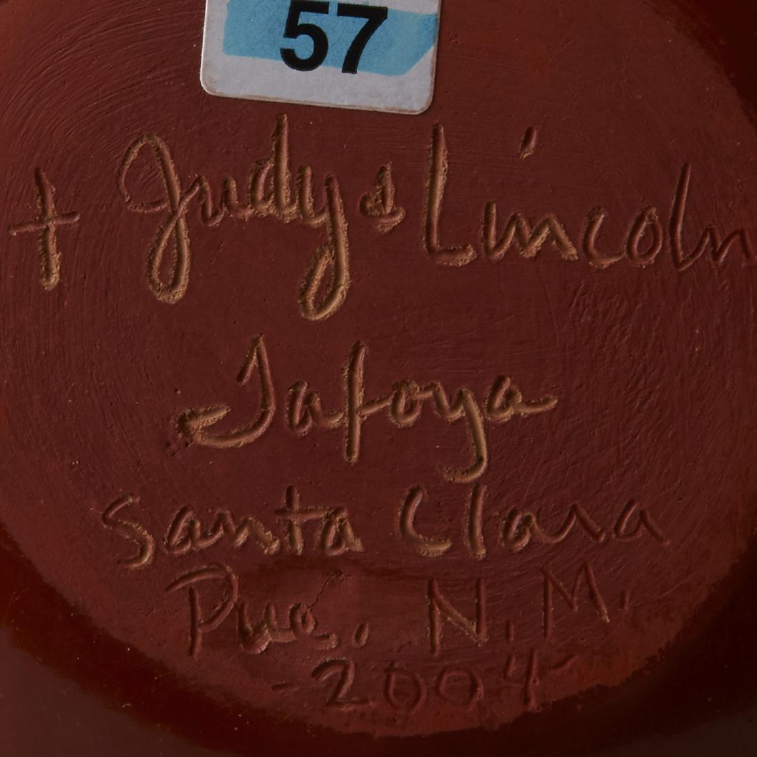 5 Santa Clara Redware Jars Tafoya, Gachapin - 8