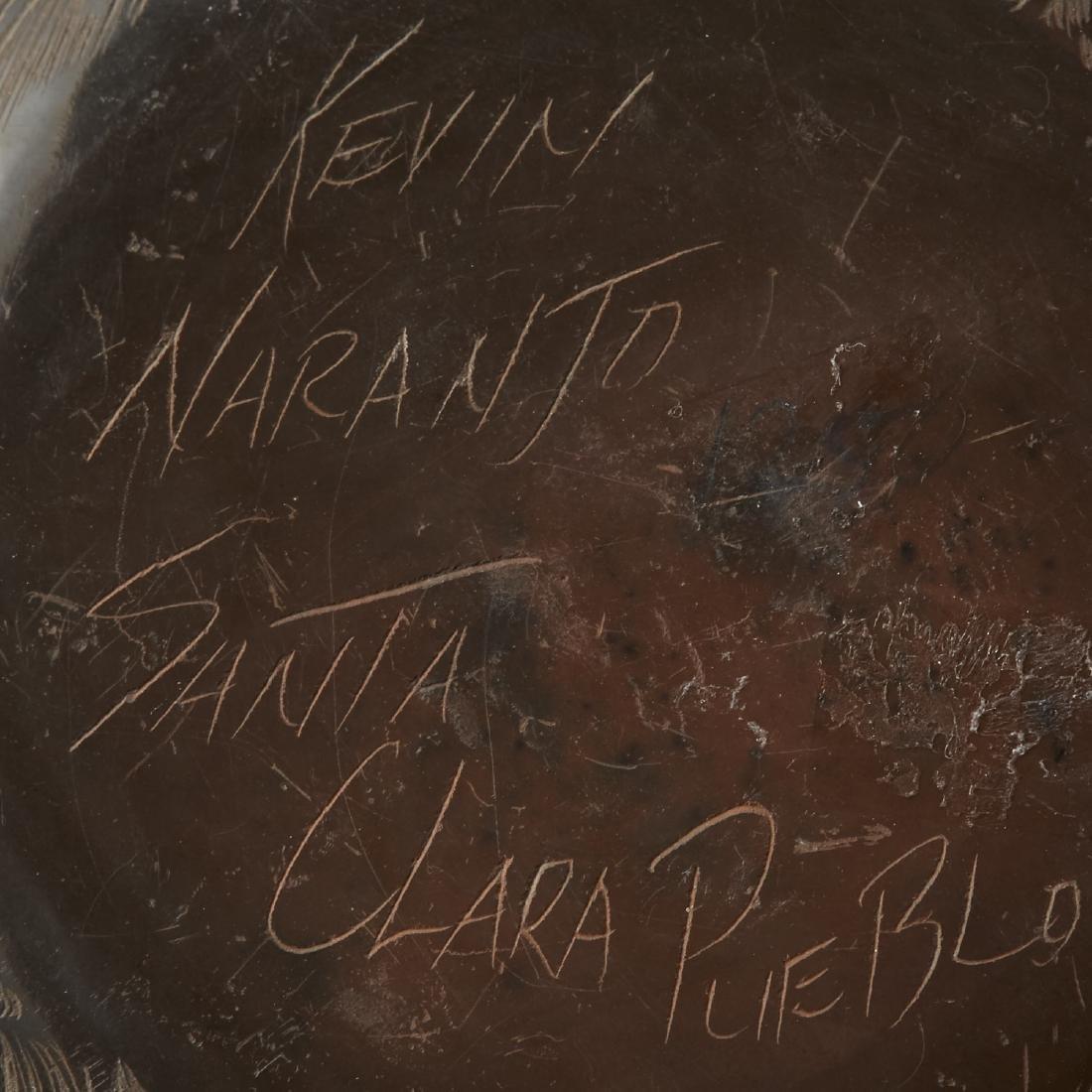 Naranjo, Nez Santa Clara Pottery Jars - 6