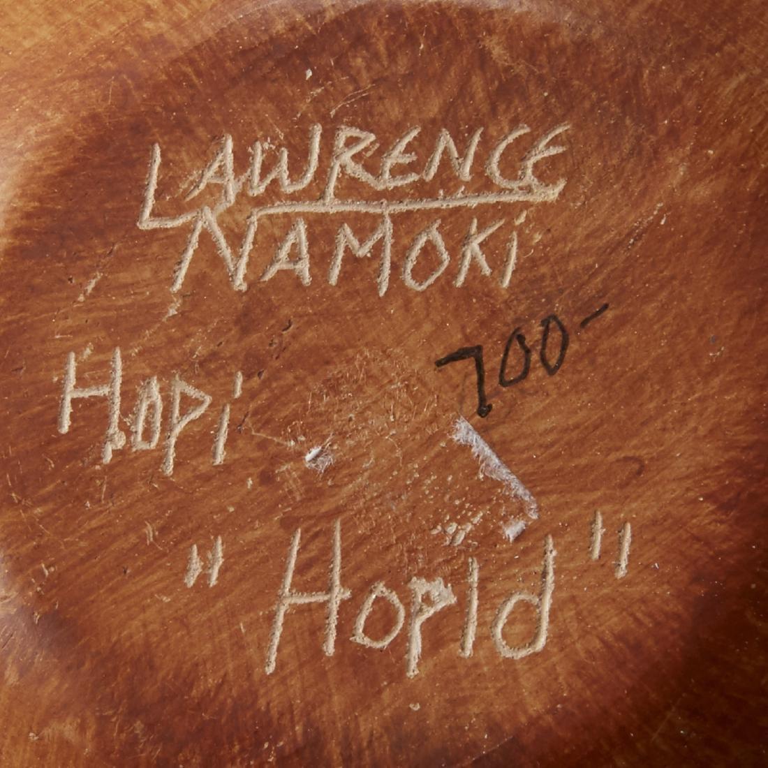 Group of 4 Lawrence Namoki Hopi Carved Jars - 5
