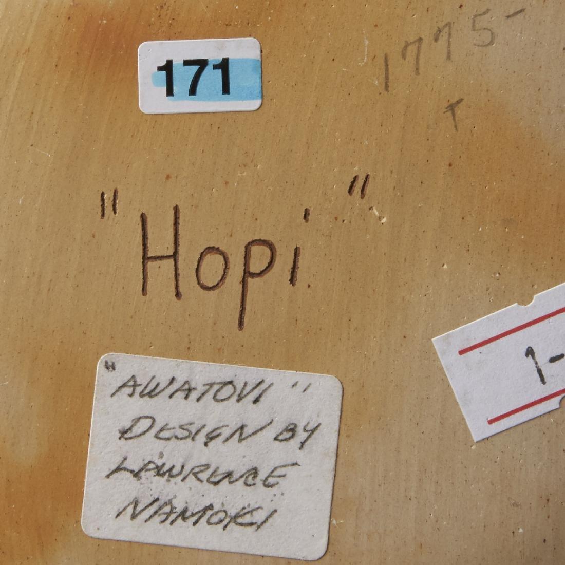 Group of 4 Lawrence Namoki Hopi Carved Jars - 8