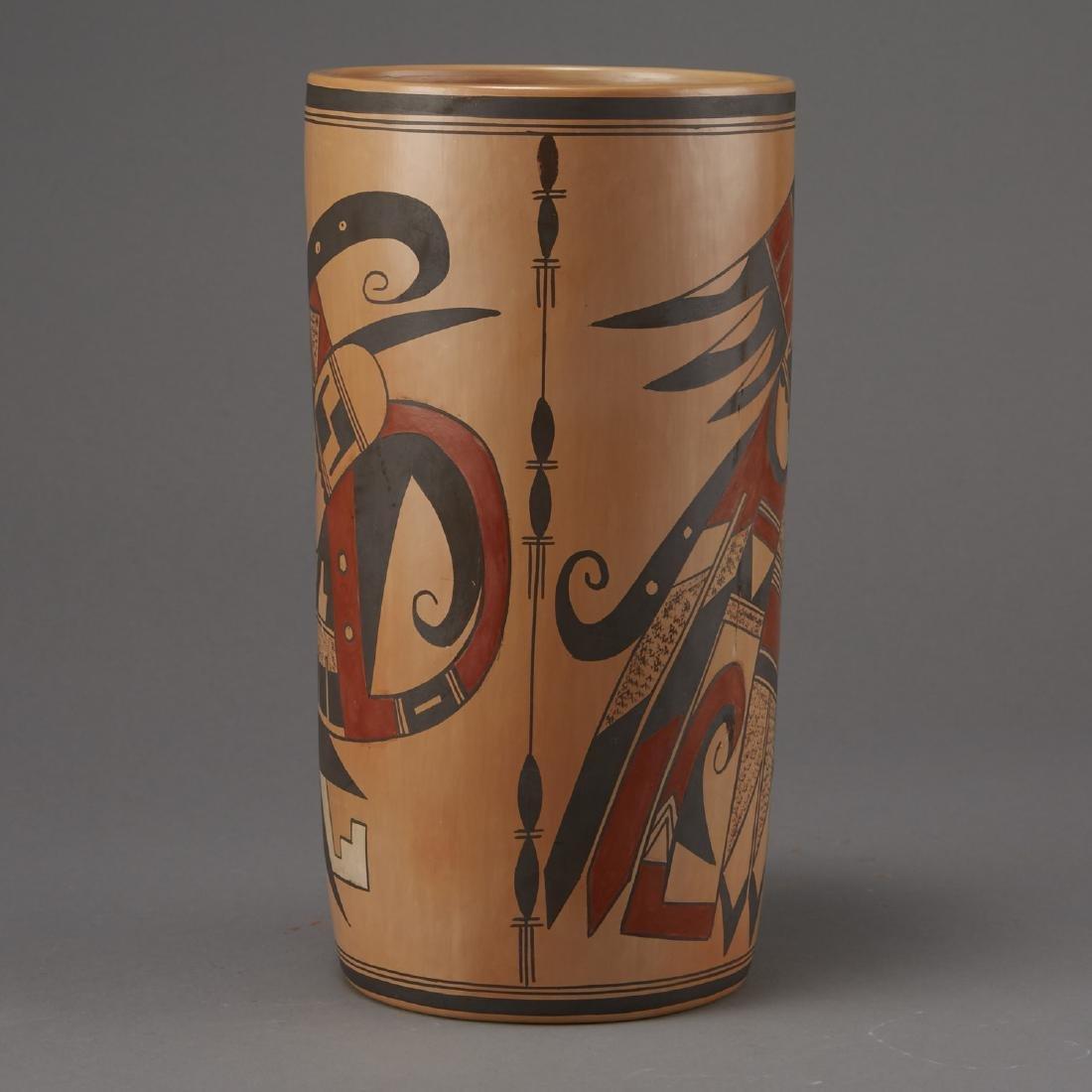 Jean Sahmie, Hopi/Tewa Cylinder Jar - 2