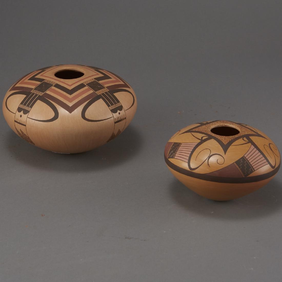 2 Jacob Nampeyo Koopee Polychrome Jars - 3