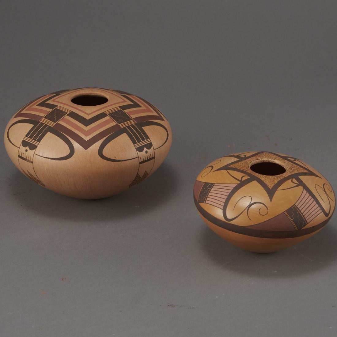 2 Jacob Nampeyo Koopee Polychrome Jars - 4