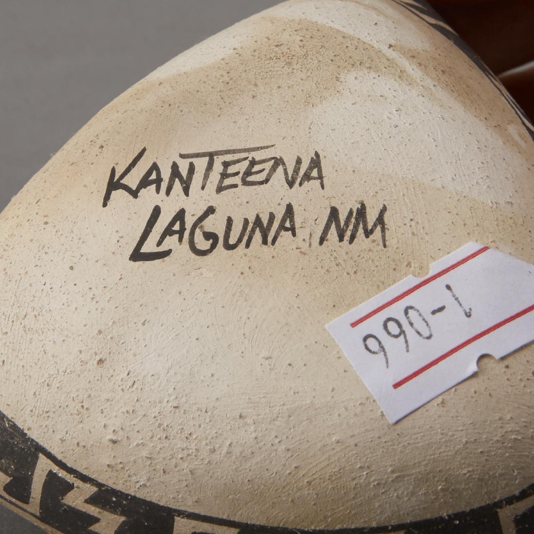 6 Laguna Pueblo Pottery Effigy Jars and Kachina - 5