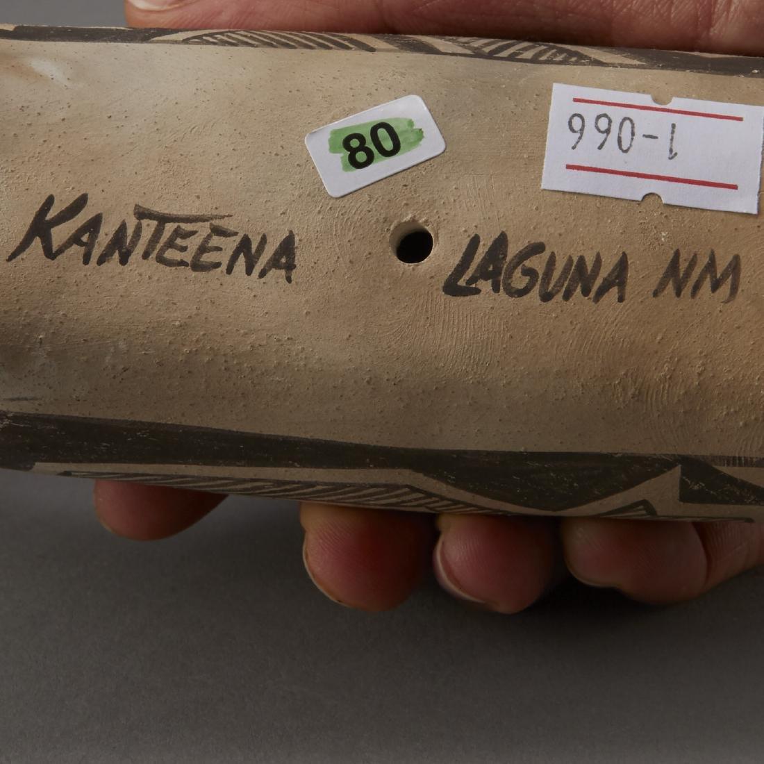 6 Laguna Pueblo Pottery Effigy Jars and Kachina - 6