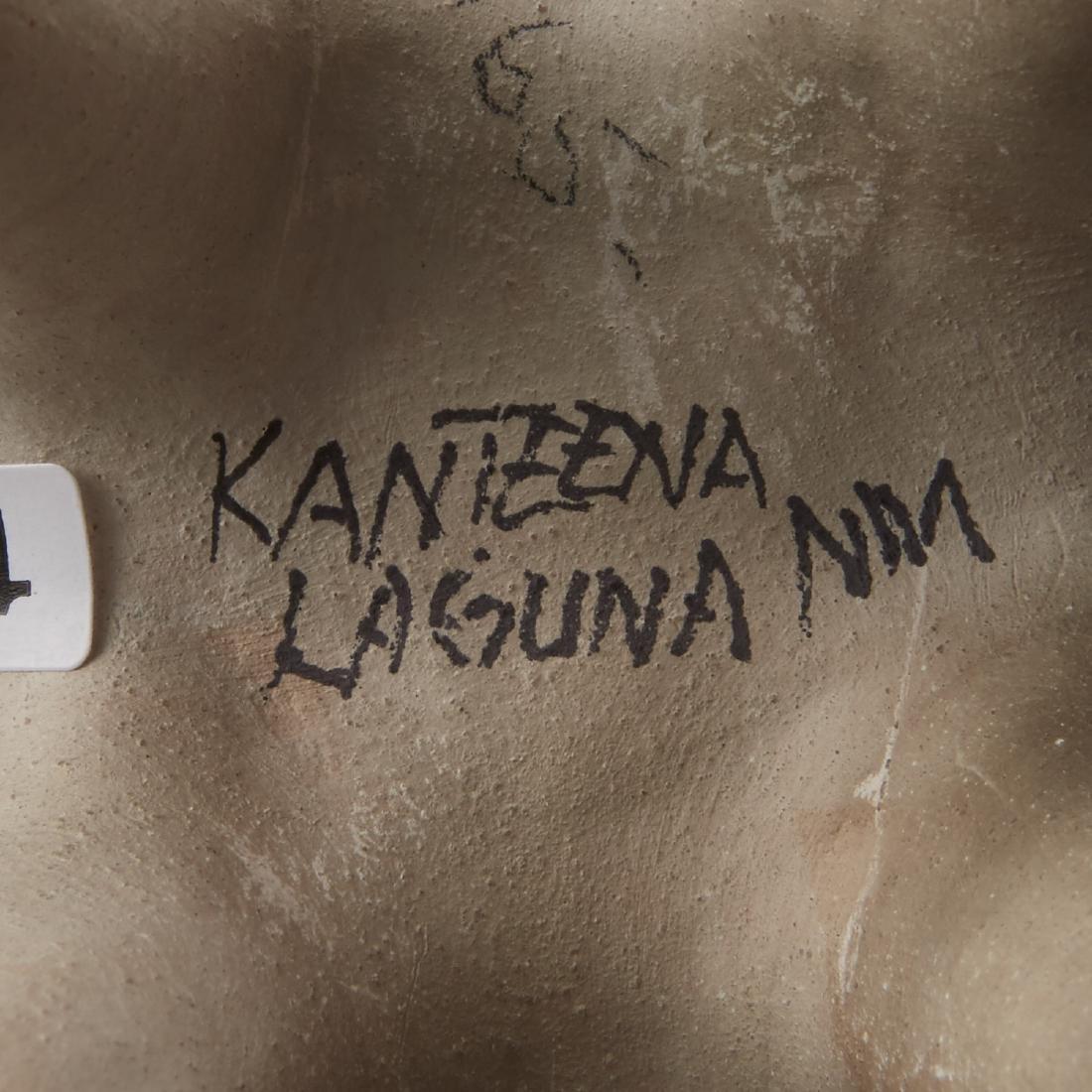6 Laguna Pueblo Pottery Effigy Jars and Kachina - 7