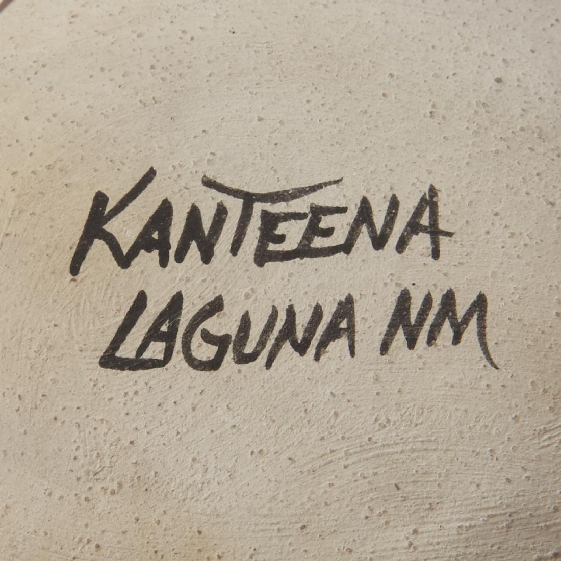 6 Laguna Pueblo Pottery Effigy Jars and Kachina - 8