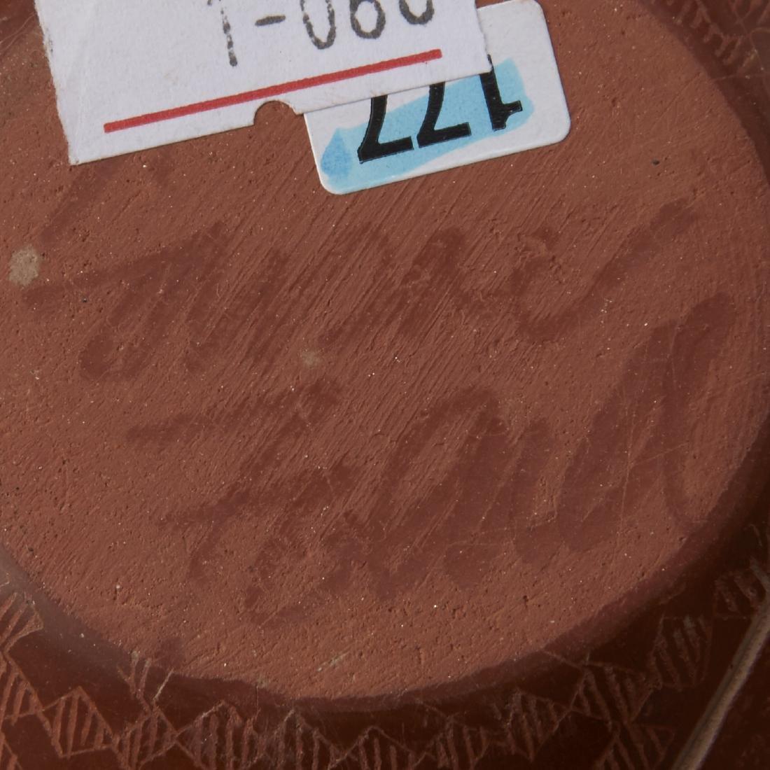 3 Santa Clara Pottery Jars Naranjo and Folwell - 7