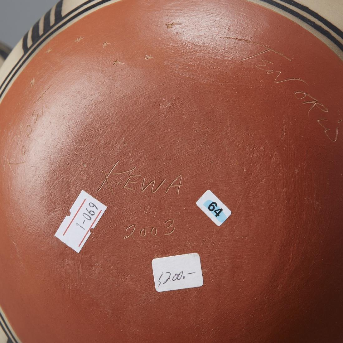 3 Tenorio Kewa Santo Domingo Pottery Jars - 5