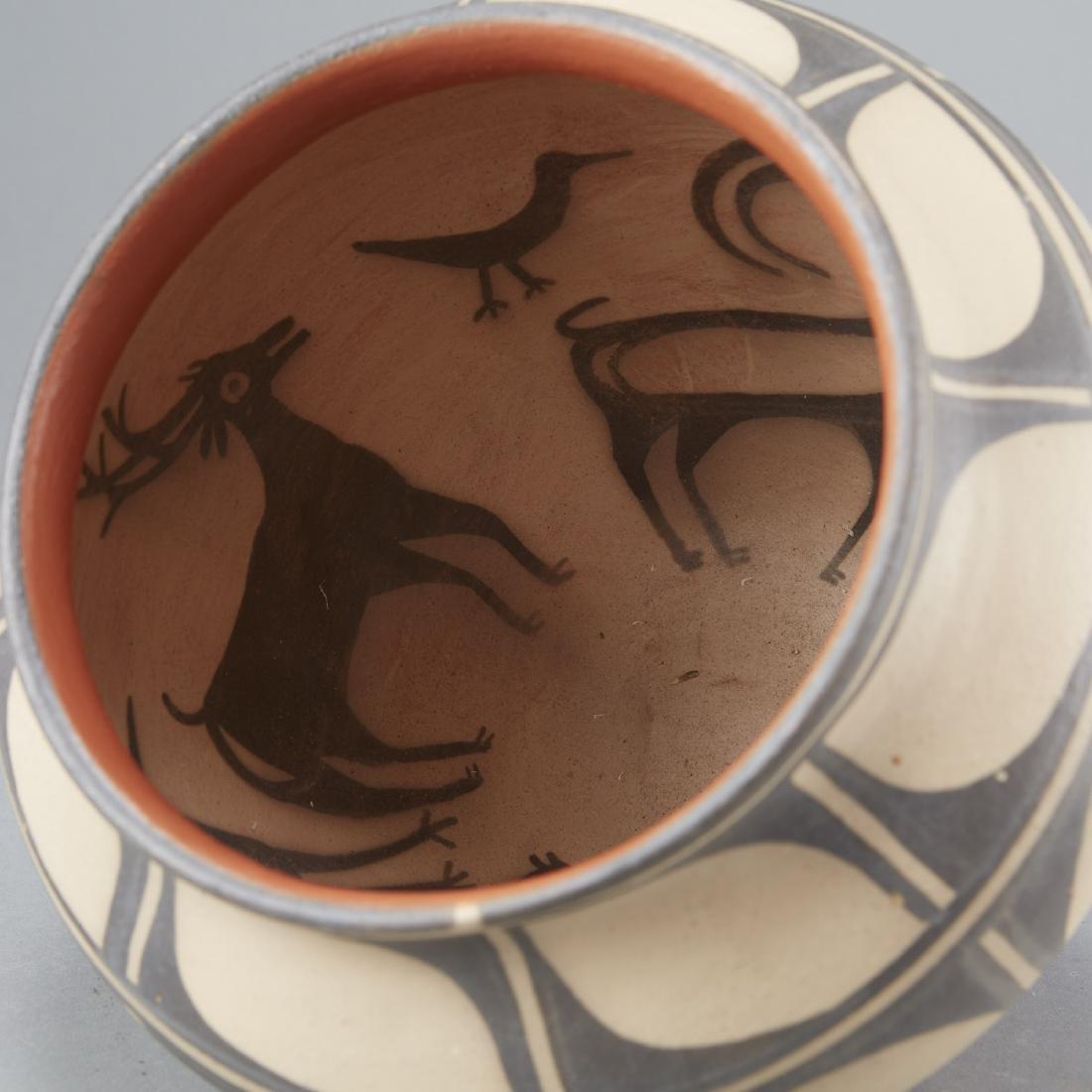 3 Tenorio Kewa Santo Domingo Pottery Jars - 8
