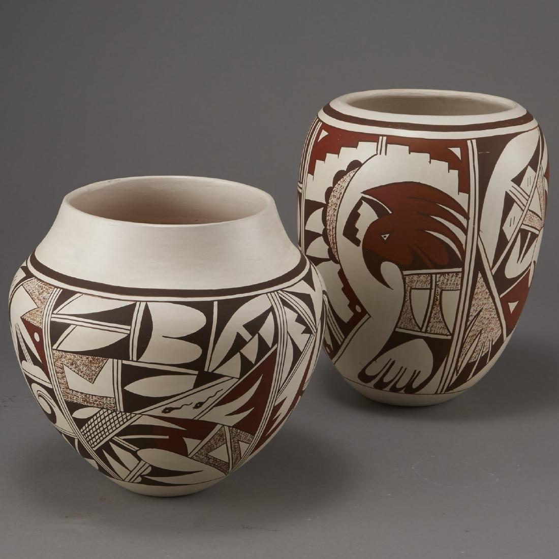2 Joy Navasie Frog Woman Pottery Vase Bowl - 3