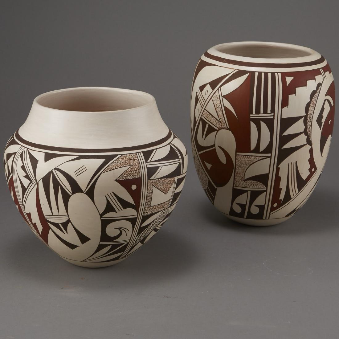 2 Joy Navasie Frog Woman Pottery Vase Bowl - 4