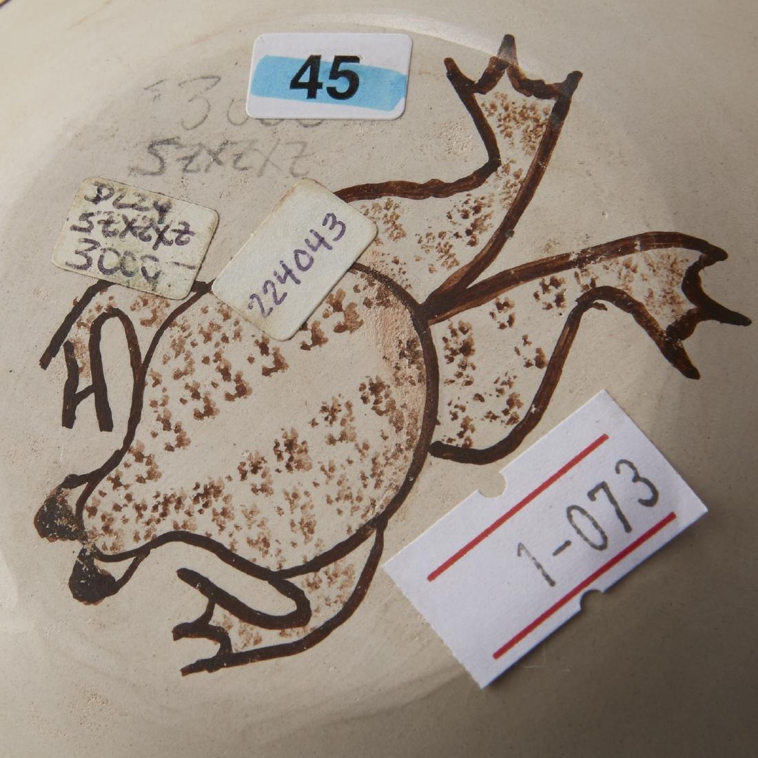 2 Joy Navasie Frog Woman Pottery Vase Bowl - 5