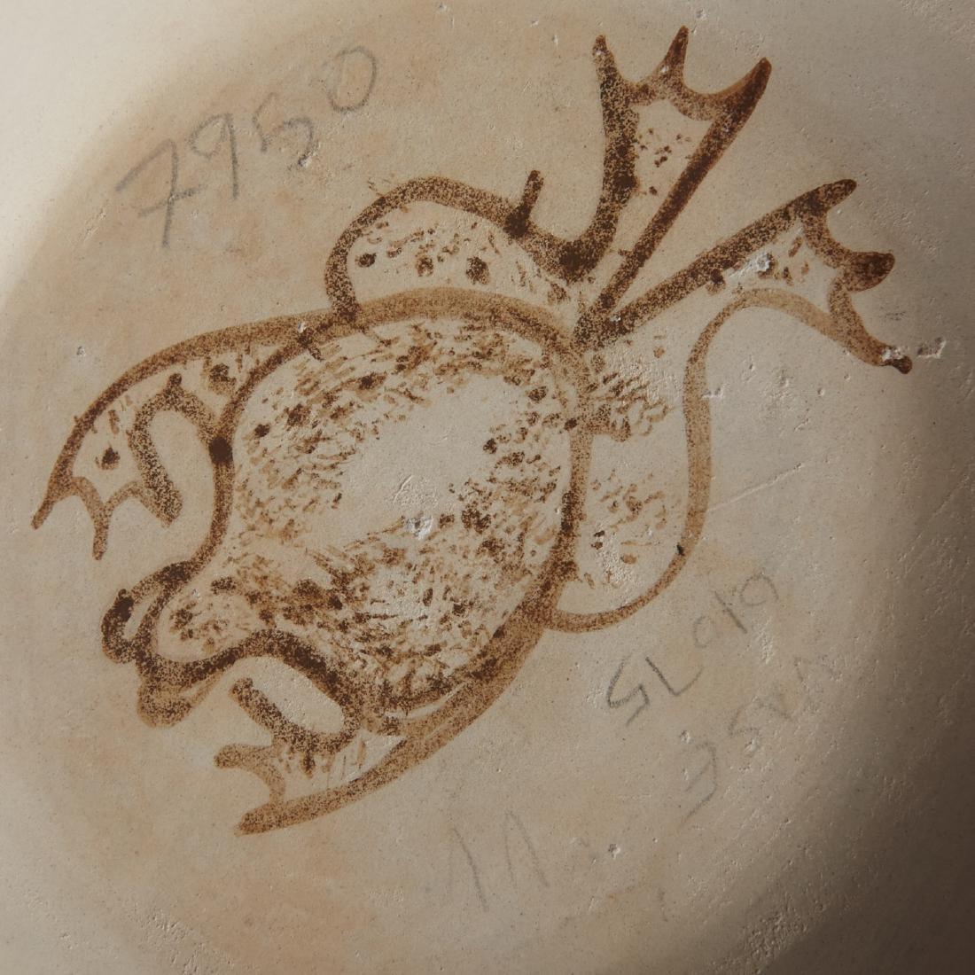 2 Joy Navasie Frog Woman Pottery Vase Bowl - 6
