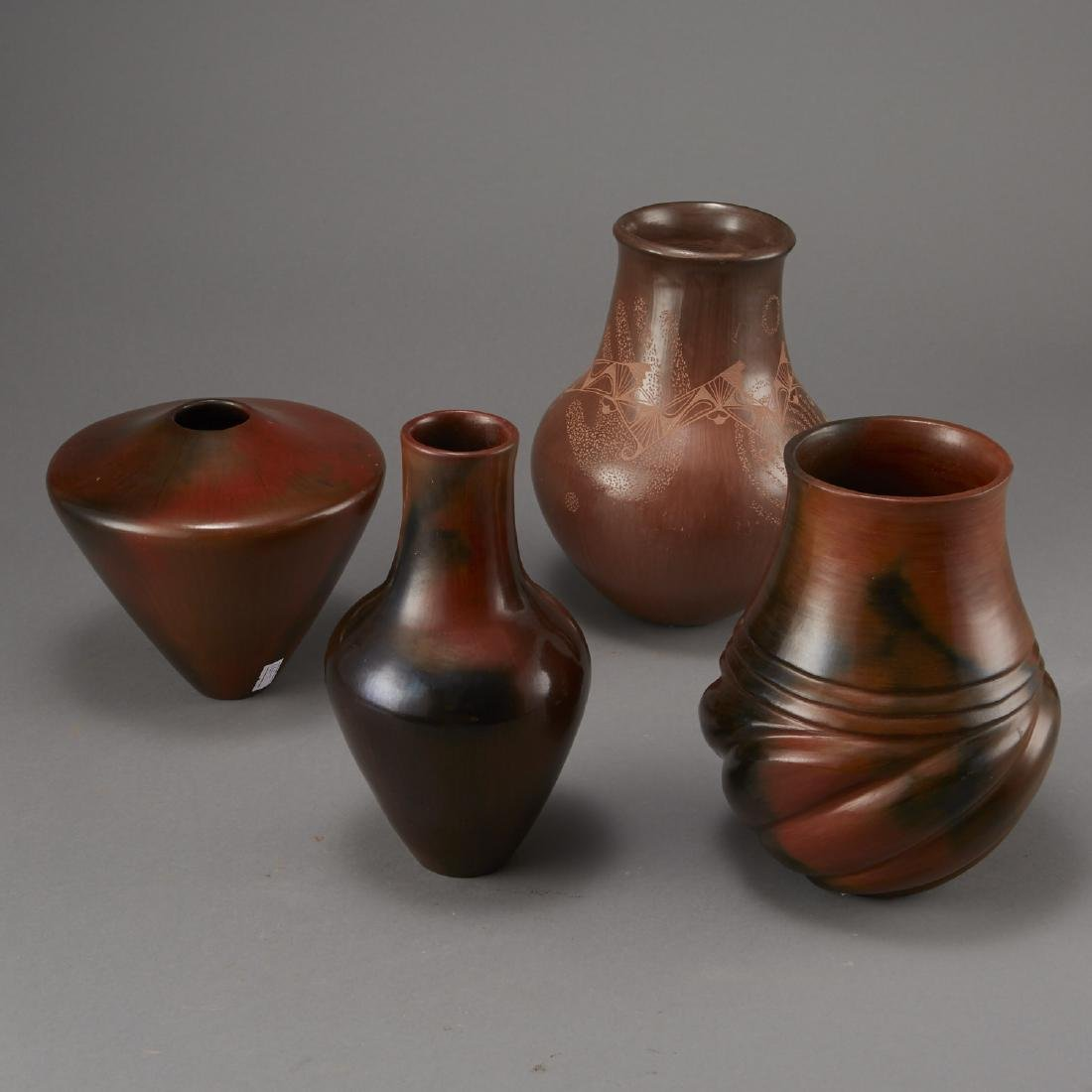 4 Brownware Pottery Manymules, Gonzalez, Cling - 2
