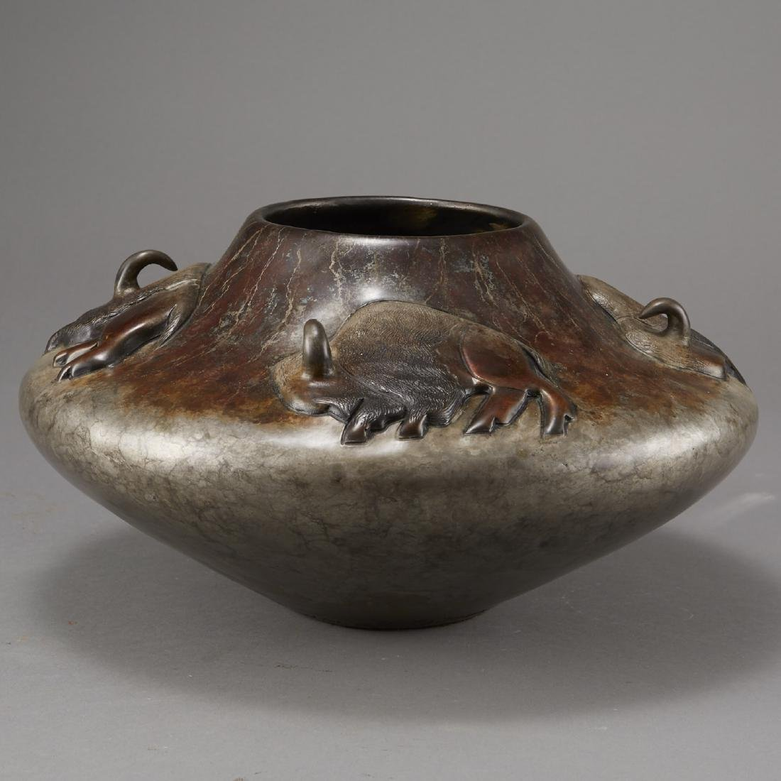 Pahponee Bronze Vessel In a Sacred Manner I Walk - 2