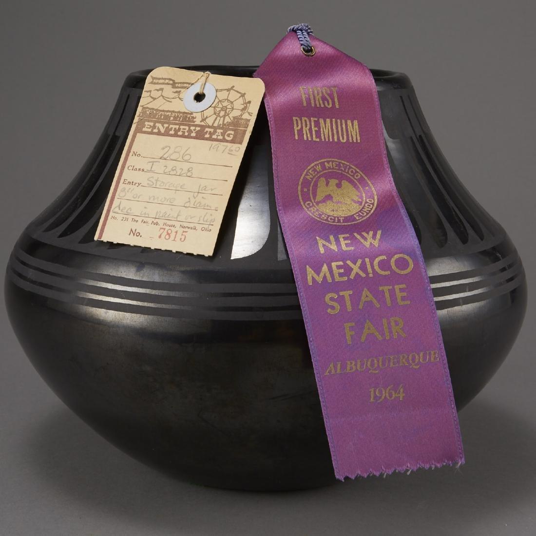 Maria Martinez San Ildefonso Blackware Pot