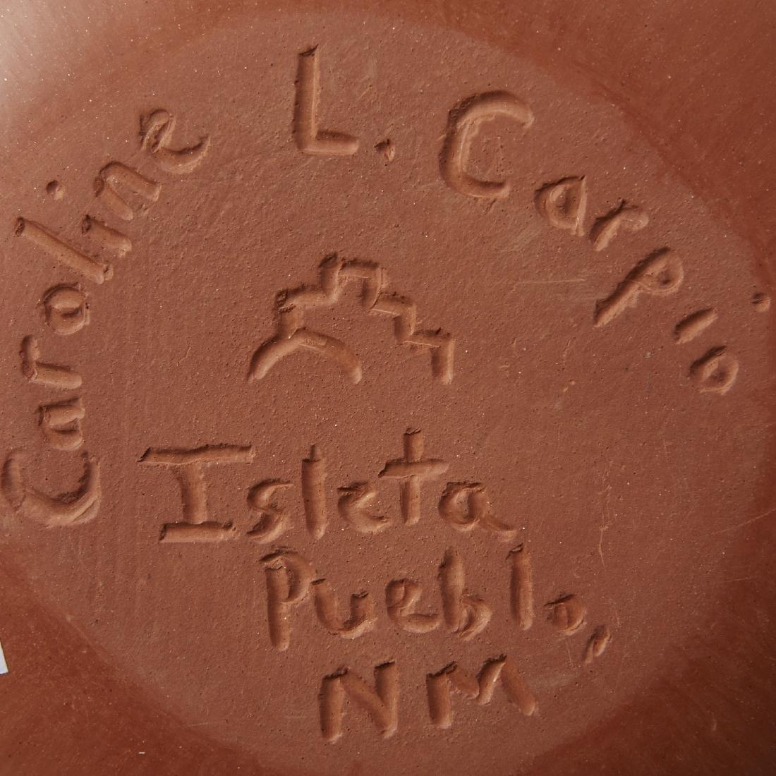 4 Pueblo Pottery Pieces Gonzalez - 7
