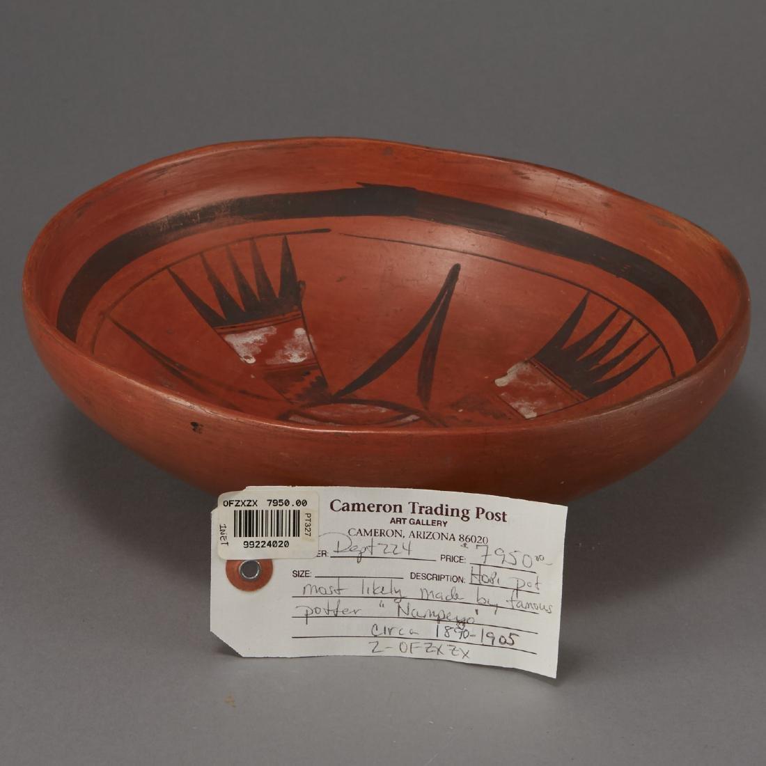 Redware Bowl Attributed to Nampeyo of Hano