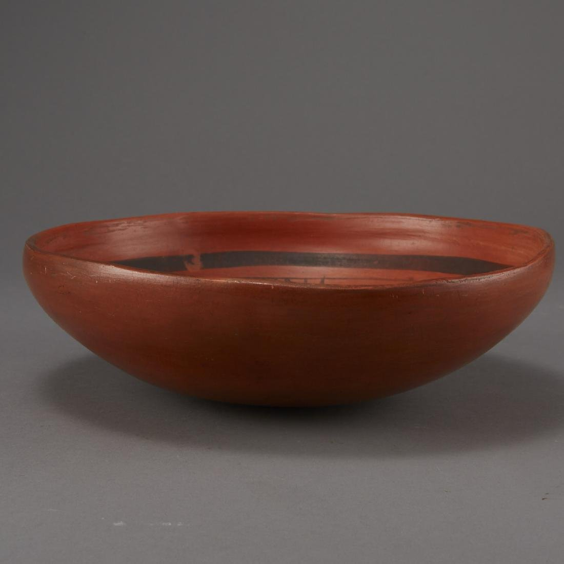 Redware Bowl Attributed to Nampeyo of Hano - 4