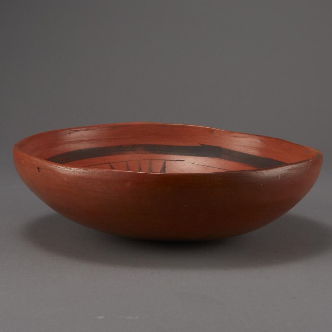 Redware Bowl Attributed to Nampeyo of Hano - 5