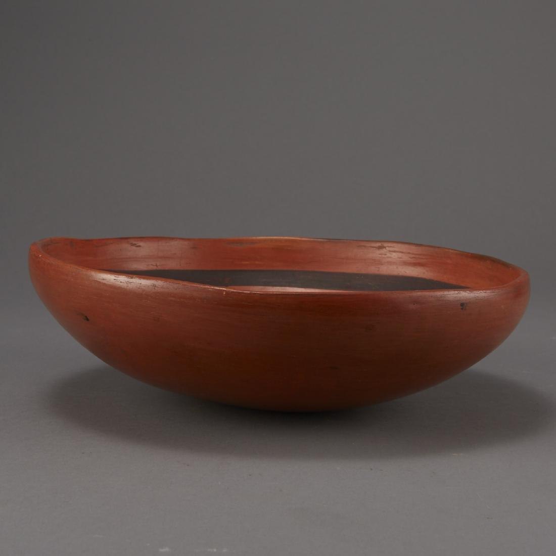 Redware Bowl Attributed to Nampeyo of Hano - 6