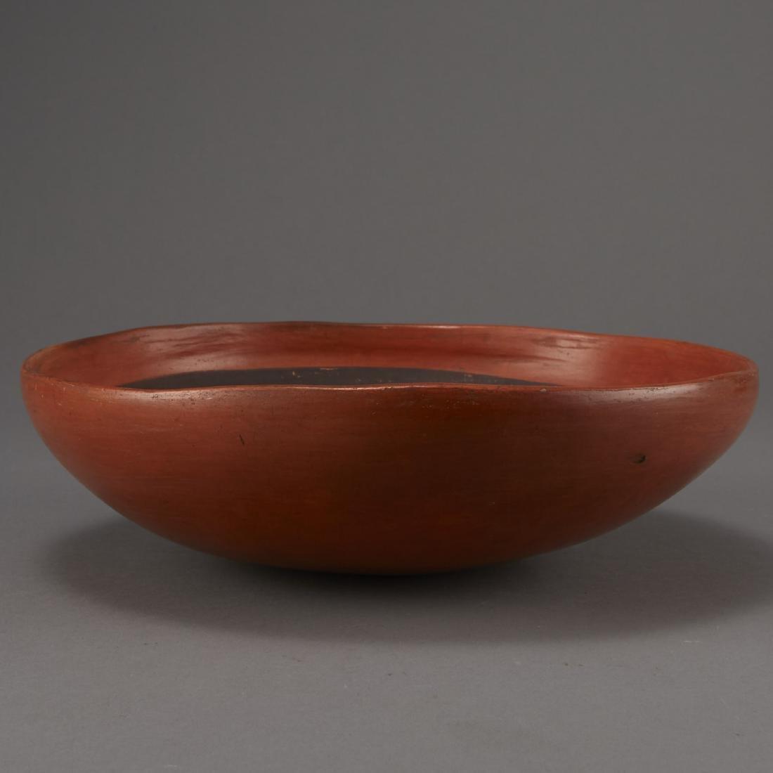 Redware Bowl Attributed to Nampeyo of Hano - 7