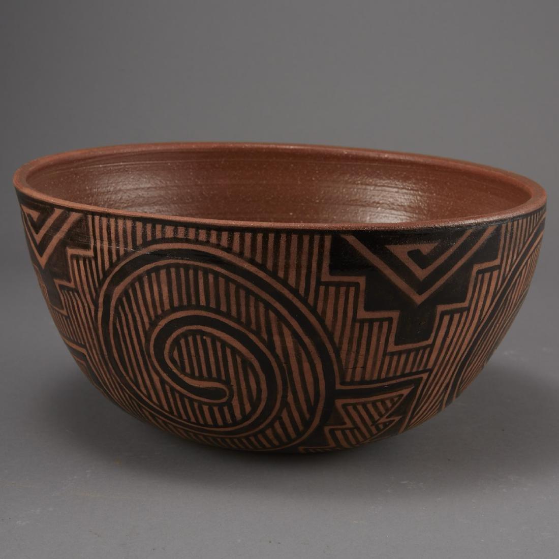 6 Pueblo Pottery Pots incld Fragua, Nez, Medina - 5