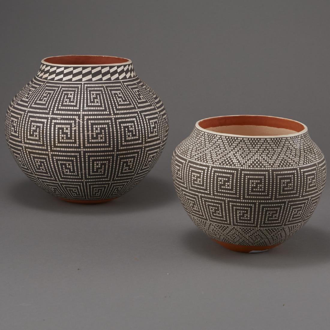 2 Frederica Antonio Acoma Pueblo Pottery Jar - 2