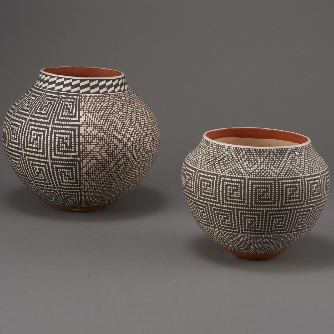 2 Frederica Antonio Acoma Pueblo Pottery Jar - 3