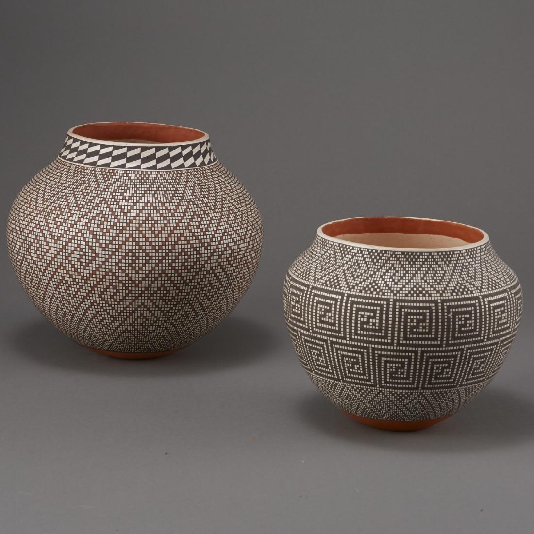 2 Frederica Antonio Acoma Pueblo Pottery Jar - 4