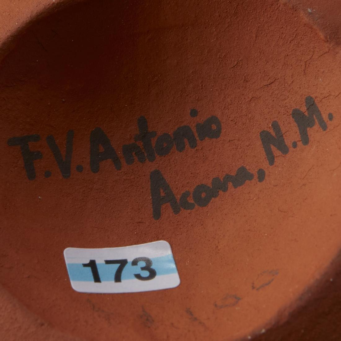2 Frederica Antonio Acoma Pueblo Pottery Jar - 5