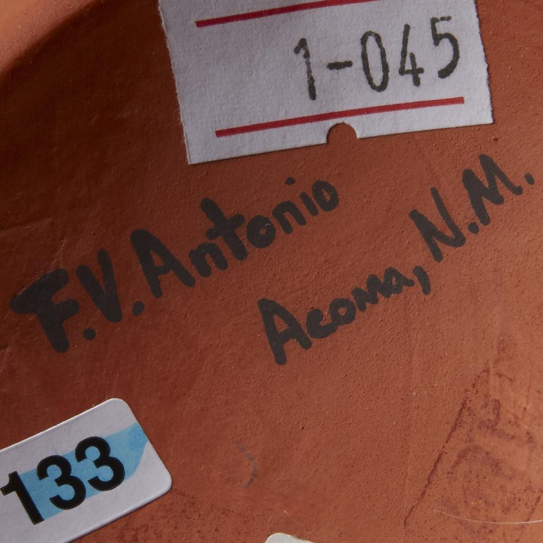 2 Frederica Antonio Acoma Pueblo Pottery Jar - 6