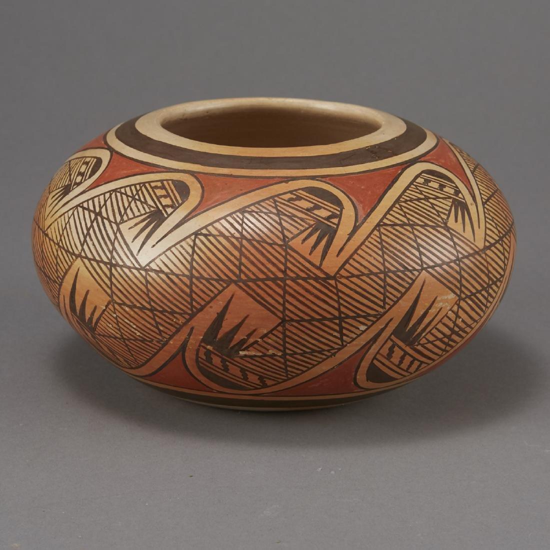 Fannie Nampeyo Hopi Migration Pattern Jar