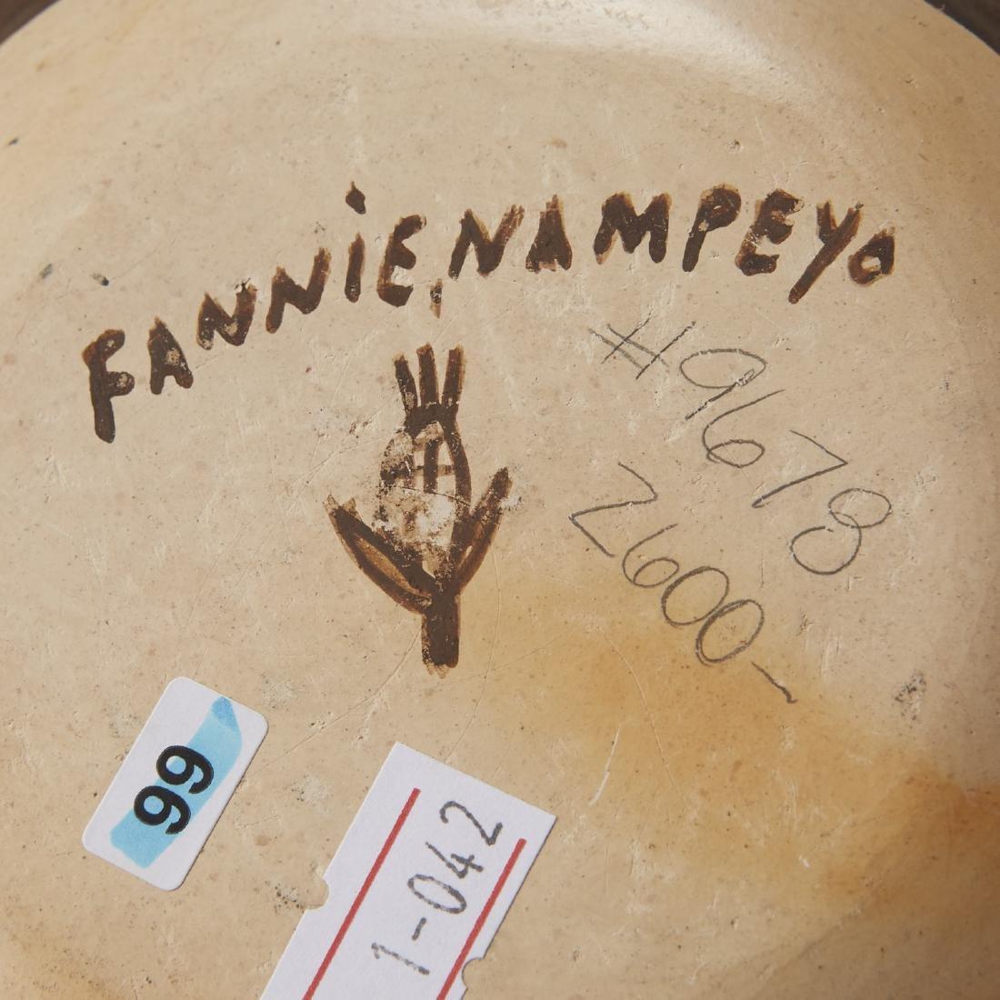 Fannie Nampeyo Hopi Migration Pattern Jar - 8