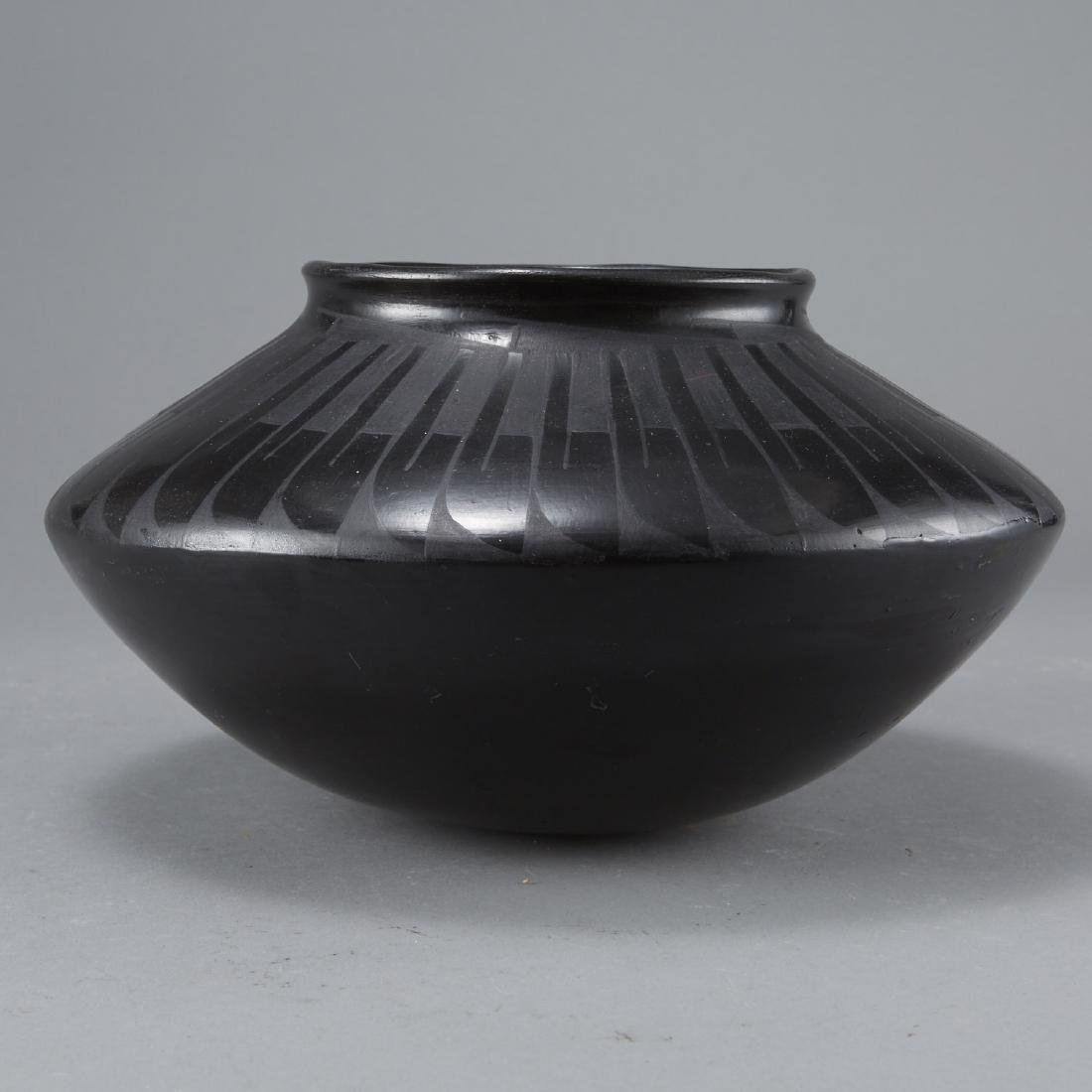 San Ildefonso Blackware Jar