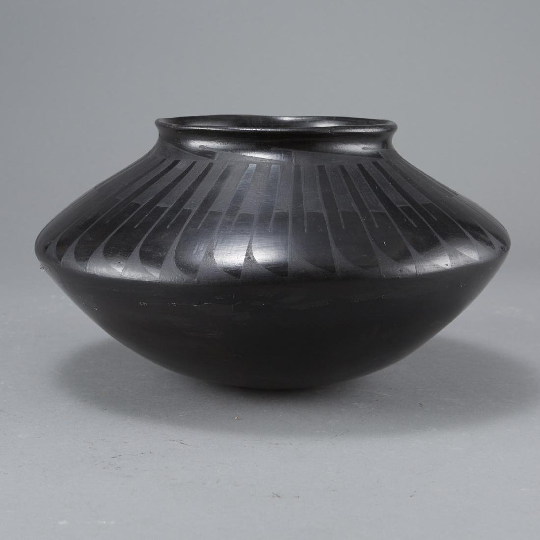 San Ildefonso Blackware Jar - 2