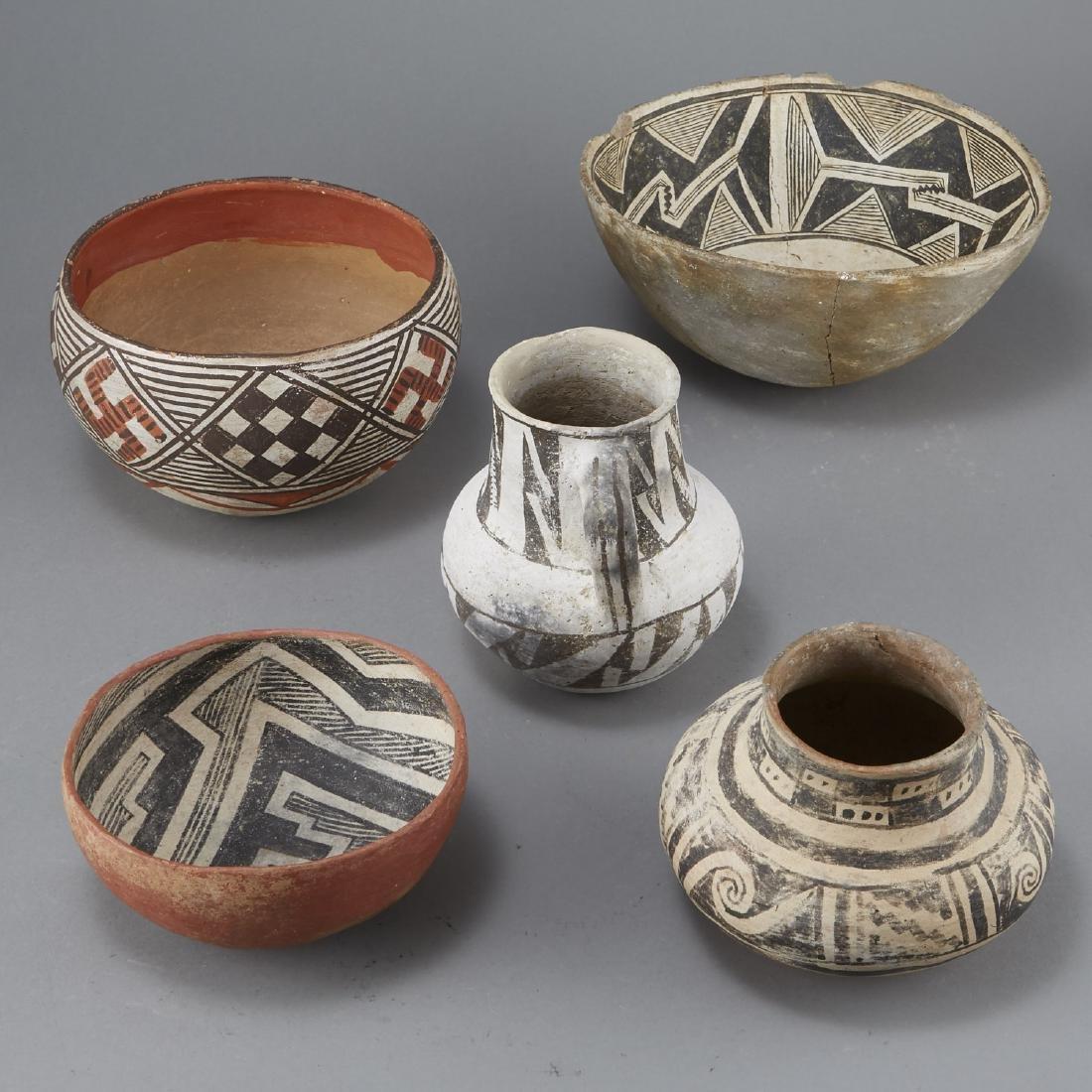 5 Prehistoric Pottery Pieces - 2
