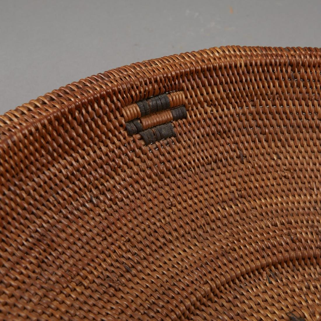 Group of 5 Pima Woven Baskets and Trays - 10